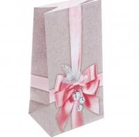 Пакет подарочный маленький Бантик