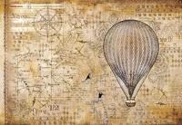 Бумага рисовая для декупажа Воздушный шар