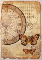 Бумага рисовая Бабочка