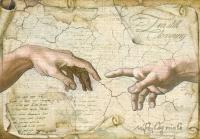 Бумага рисовая Michelangelo Прикосновение