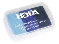 Штемпельная подушечка «Inc Pads 3 Colour» оттенки сенего
