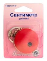 Сантиметр-рулетка с кольцом для ключей