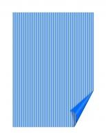 Лист бумаги Линии синие