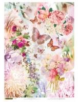 Рисовая бумага «В розовом цвете»