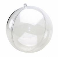 Шар пластиковый разъемный 10 см