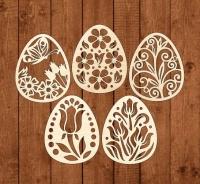 Набор «Пасха-4» элементы из дерева