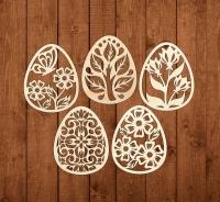 Набор «Пасха-5» элементы из дерева