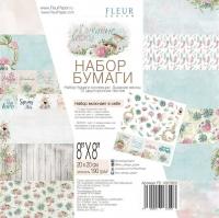 Набор бумаги «Дыхание весны» средний