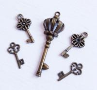 Набор подвесок Старинные ключи