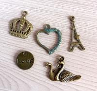 Набор подвесок О любви