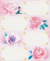 Наклейки для надписей Нежные цветы