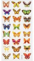 Наклейки Атлас бабочек