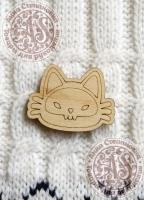 Заготовка «Meow» для значка