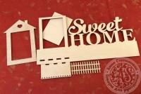 Заготовка для ключницы Sweet Home