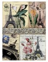 Рисовая бумага «Эйфелева башня»