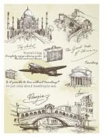 Рисовая бумага «Travelling»