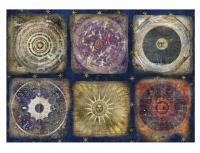 Рисовая бумага «Средневековая астрономия»
