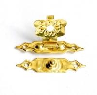 Замок для шкатулок золотая бабочка
