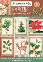 Набор бумаги Зимняя ботаника