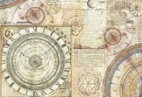 Бумага рисовая для декупажа «Астрономия»