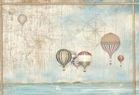 Бумага рисовая для декупажа «Воздушные шары»