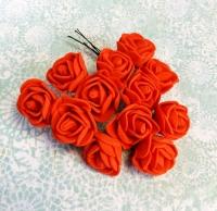 Букетик роз из фоама красные
