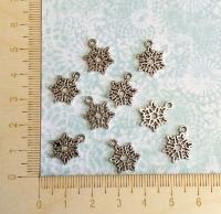 Набор подвесок Снежинки маленькие
