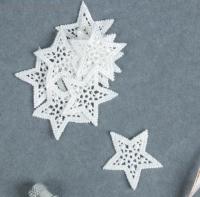 Вязанные украшения для скрапбукинга Звезды