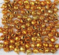 Бубенчики золотистые, набор 100 шт.