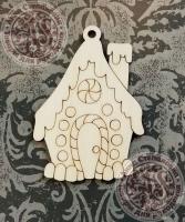 Подвеска новогодняя «Пряничный домик»