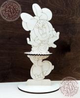 Салфетница под раскраску «МиниМаус»