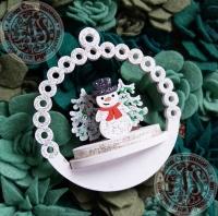 Новогодний набор для творчества Снеговик