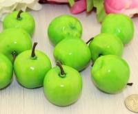 Декоративные яблочки зеленые