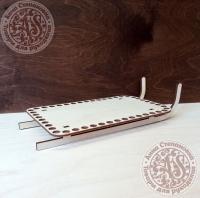 Деревянная форма для обвязывания Сани