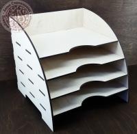 Открытый органайзер для хранения скрапбумаги