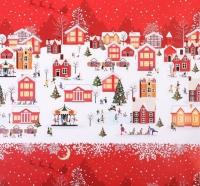 Бумага упаковочная «А в городе зима»