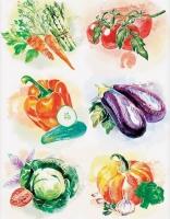 Декупажная карта «Кулинарные зарисовки»