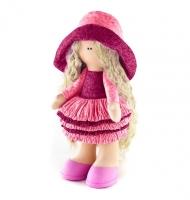 Набор для шитья куклы «Джулия» в розовом