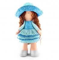 Набор для шитья куклы «Джулия» в голубом