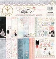 Набор бумаги для скрапбукинга Свадебная