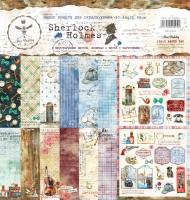 Набор бумаги для скрапбукинга Шерлок Холмс