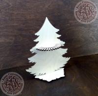 Салфетница из фанеры Новогодняя ёлка