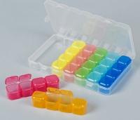 Коробка для мелочей, 7 контейнеров по 4 ячейки