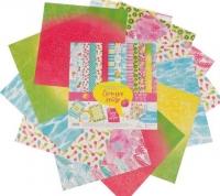 Набор бумаги для скрапбукинга Сочное лето