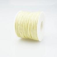 Шнур вощеный светло-желтый