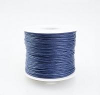 Шнур вощеный темно-синий