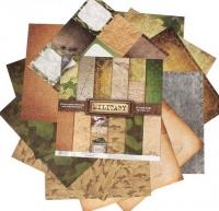 Набор бумаги для скрапбукинга «Military»