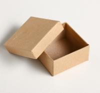 Коробка крафт квадратная №1