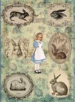 Рисовая бумага «Алиса»