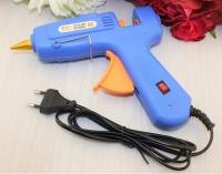 Клеевой пистолет 11 мм, 60вт, синий